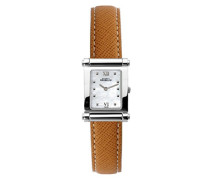 Michel Herbelin Damen-Armbanduhr 17049/19MA Damen-Armband, Leder, Farbe: braun