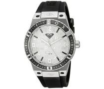 Damen-Armbanduhr The Bliss Analog Silikon Schwarz RX/1005SVBK