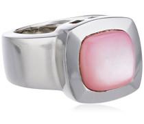 Damen-Ring 925 Sterling Silber pink