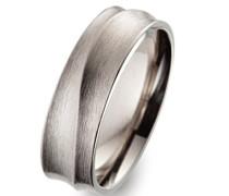 Unisex -Ehe, Verlobungs & Partnerringe Ringgröße 64 (20.4) - OR52407/64