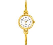 Damen-Armbanduhr Analog Quarz Gold 630753