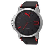 Herren-Armbanduhr XL Analog Quarz Plastik A.PU102941003