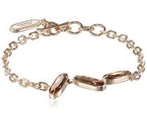Damen-Armband Bahamas Vergoldet teilvergoldet Kristall orange 17.0 cm - BBABOC07