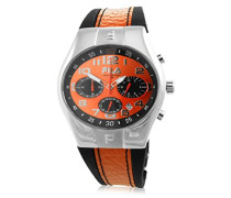 Herren-Armbanduhr Analog Quarz Kautschuk 7553492-15