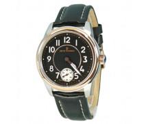 Herren-Armbanduhr XL Analog Handaufzug Leder 16064.3557