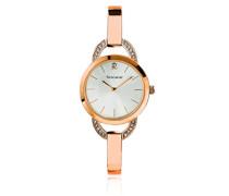 Damen-Armbanduhr Tendance Analog Quarz Rosa 037F929