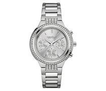 Caravelle New York Damen-Armbanduhr NEW BOYFRIEND Chronograph Quarz Edelstahl 43L186