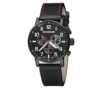 Unisex-Armbanduhr 01.0343.104   ATTITUDE CHRONO Analog Quarz Leder 01.0343.104   ATTITUDE CHRONO