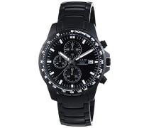 Regent Herren-Armbanduhr XL Analog Quarz Titan 11090327