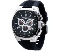 Herren-Armbanduhr XL Chronograph Silikon JG8300-23