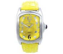Unisex-Armbanduhr Analog Quarz Leder 0200GODG