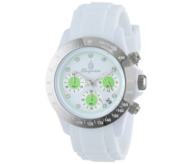 Damen-Armbanduhr Chronograph Quarz Silikon BM514-586A