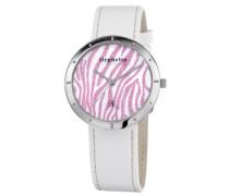 Orphelia Damen-Armbanduhr XS Analog Quarz Leder OR22170971