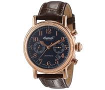 Herren-Armbanduhr Butterfield Chronograph Automatik Leder IN1828RBL