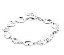Damen Gliederarmbänder Silber - MSAE222B