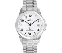 Herren-Armbanduhr Analog Quarz Silber 616217