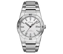s.Oliver Herren-Armbanduhr Analog Quarz Edelstahl SO-3095-MQ
