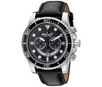 Herren-Armbanduhr Chronograph Quarz INQ032BKBK