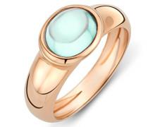 Damen-Ring 9 Karat (375) Rosegold Peridot 1.5 ct Größe 58 MNA9005R58