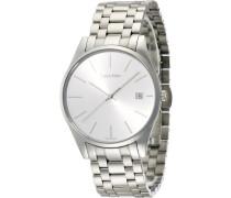 Calvin Klein Herren-Armbanduhr Analog Quarz Edelstahl K4N21146