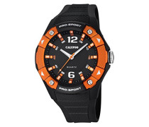 Calypso Herren-Armbanduhr Analog Quarz Plastik K5676/3