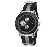 ! Herren-Armbanduhr Tom Chronograph Quarz Textil JP101451009