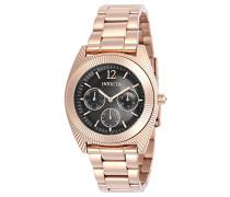 Damen-Armbanduhr Analog Quarz Edelstahl Beschichtet-23751