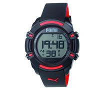 Puma Herren-Armbanduhr Sixty Bytes Digital Quarz Plastik PU911221001