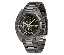 Sector Herren - Armbanduhr 950 Chronograph Quarz Edelstahl R3273981004