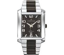 Herren-Armbanduhr Analog Quarz Silber 616266