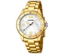 Damen-Armbanduhr Analog Quarz Plastik K5646/2