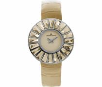 La Passion Damen-Armbanduhr XS Flora Analog Leder 1-1639C