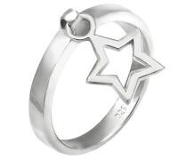 Damen Ring Sterne 925 Sterling Silber
