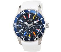A12629G–Armbanduhr Herren, Armband aus Kunstharz Farbe Weiß
