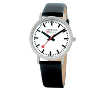 Mondaine Herren-Armbanduhr SBB Classic 36mm Analog Quarz A660.30314.16SBB