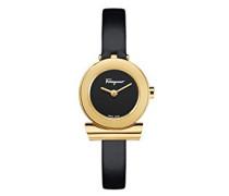 Salvatore Ferragamo Analog Quarz Uhr mit Leder Armband SF4300118