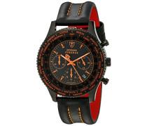 DETOMASO Herren-Armbanduhr Firenze Chronograph Quarz SL1624C-BO