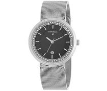 Damen-Armbanduhr Analog Quarz Edelstahl 12507