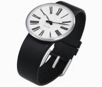 Unisex-Armbanduhr Analog Edelstahl weiss 43432