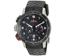 Unisex-Armbanduhr  RALLY INSTRUMENTS CHRONORALLY 1 Chronograph Quarz Kautschuk 10305 3NR NR