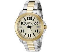 Herren-Armbanduhr Analog edelstahl Mehrfarbig 21441