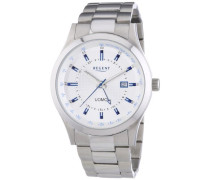 Herren-Armbanduhr XL Analog Quarz Edelstahl 11150547