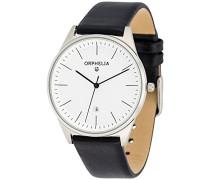 Herren-Armbanduhr Analog Quarz Leder 61504