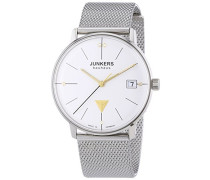 Junkers Damen-Armbanduhr XS Bauhaus Analog Quarz Edelstahl 6073M1