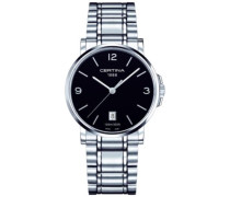Certina Herren-Armbanduhr XL Analog Quarz Edelstahl C017.410.11.057.00