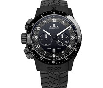 Unisex-Armbanduhr  RALLY INSTRUMENTS CHRONORALLY 1 Chronograph Quarz Kautschuk 10305 37N NN