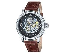 Herren- Armbanduhr Longcase Analog Automatik