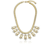 Orah: Crystal Halskette und Pearl Cluster