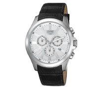 Collection Herren-Armbanduhr Kratos Chronograph Quarz Leder EL101801F01