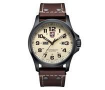 Atacama Field Herren-Armbanduhr Analog Quarz Leder - XL.1927